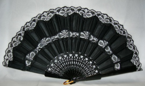 "undertherubble:  The Language Of The Fan In the past, hand fans were used not only as cooling instruments, but also as convenient communication devices, mainly for transmitting more or less furtive love messages. 1) THE FAN PLACED NEAR THE HEART:""You have won my love."" 2) A CLOSED FAN TOUCHING THE RIGHT EYE: ""When may I be allowed to see you?"" 3) THE NUMBER OF STICKS SHOWN ANSWERED THE QUESTION: At what hour?"" 4) THREATENING MOVEMENTS WITH A FAN CLOSED: Do not be so imprudent"" 5) HALF-OPENED FAN PRESSED TO THE LIPS: ""You may kiss me."" 6) HANDS CLASPED TOGETHER HOLDING AN OPEN FAN: ""Forgive me."" 7) COVERING THE LEFT EAR WITH AN OPEN FAN: ""Do not betray our secret."" 8) HIDING THE EYES BEHIND AN OPEN FAN: ""I love you."" 9) SHUTTING A FULLY OPENED FAN SLOWLY: ""I promise to marry you."" 10) DRAWING THE FAN ACROSS THE EYES: ""I am sorry."" 11) TOUCHING THE FINGER TO THE TIP OF THE FAN: ""I wish to speak with you."" 12) LETTING THE FAN REST ON THE RIGHT CHEEK: ""Yes."" 13) LETTING THE FAN REST ON THE LEFT CHEEK: ""No."" 14) OPENING AND CLOSING THE FAN SEVERAL TIMES: ""You are cruel"" 15) DROPPING THE FAN: ""We will be friends."" 16) FANNING SLOWLY:""I am married."" 17) FANNING QUICKLY:""I am engaged."" 18) PUTTING THE FAN HANDLE TO THE LIPS: ""Kiss me."" 19) OPENING A FAN WIDE: ""Wait for me."" 20) PLACING THE FAN BEHIND THE HEAD: ""Do not forget me"" 21) PLACING THE FAN BEHIND THE HEAD WITH FINGER EXTENDED: ""Goodbye."" 22) FAN IN RIGHT HAND IN FRONT OF FACE: Follow me."" 23) FAN IN LEFT HAND IN FRONT OF FACE: ""I am desirous of your acquaintance."" 24) FAN HELD OVER LEFT EAR: ""I wish to get rid of you."" 25) DRAWING THE FAN ACROSS THE FOREHEAD:""You have changed."" 26) TWIRLING THE FAN IN THE LEFT HAND: ""We are being watched."" 27) TWIRLING THE FAN IN THE RIGHT HAND:""I love another."" 28) CARRYING THE OPEN FAN IN THE RIGHT HAND:""You are too willing."" 29) CARRYING THE OPEN FAN IN THE LEFT HAND: ""Come and talk to me."" 30) DRAWING THE FAN THROUGH THE HAND: ""I hate you!"" 31) DRAWING THE FAN ACROSS THE CHEEK: ""I love you!"" 32) PRESENTING THE FAN SHUT: ""Do you love me?"""