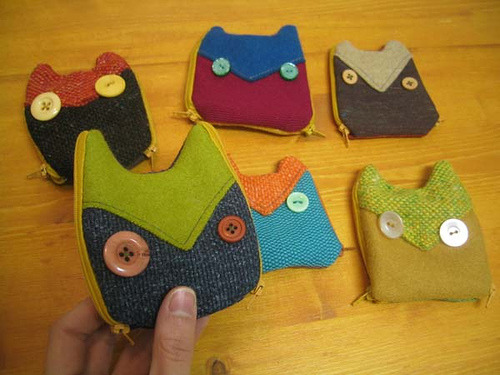 owl coin purses (by tigertea)