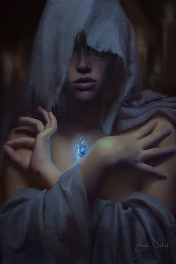 The Oracle, by Marta Dahlig