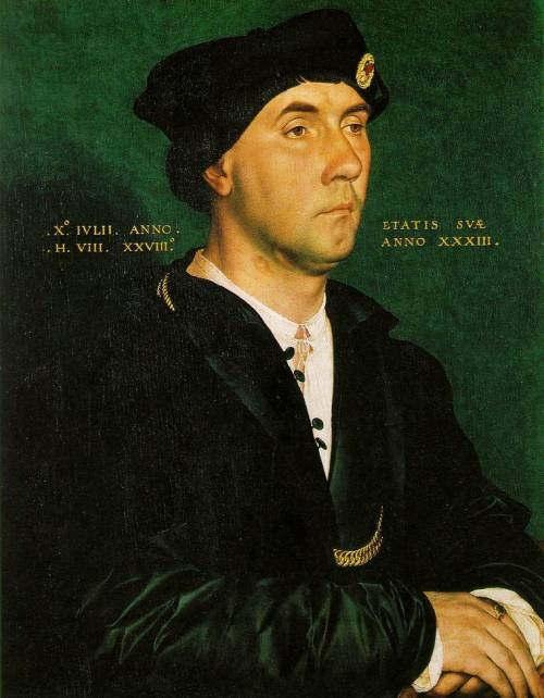 cavetocanvas:  Sir Richard Southwell - Hans Holbein the Younger, 1536  This looks a bit like Hughbot