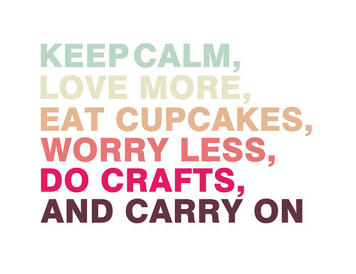 Keep calm and carry on (by Ingrid Nirve)