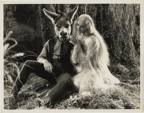 "ravenwillowmoon:  ""A Midsummer Nights Dream"" 1935"