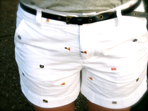prepofthesouth:  Awesome shorts!