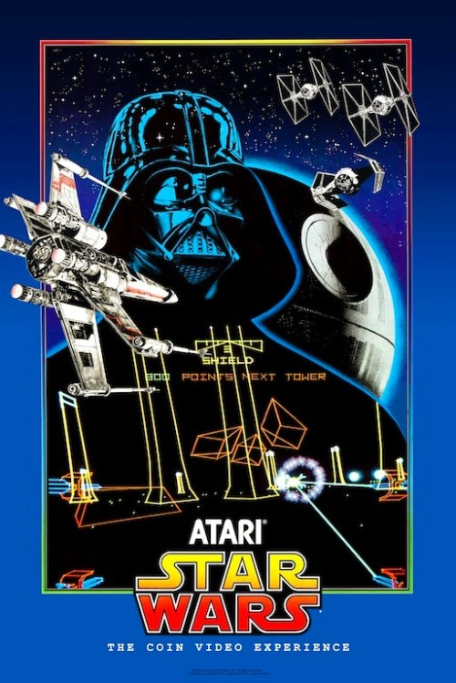 Atari Star Wars Video Game.