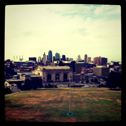 Kansas City, Missouri. Seeing family friends.