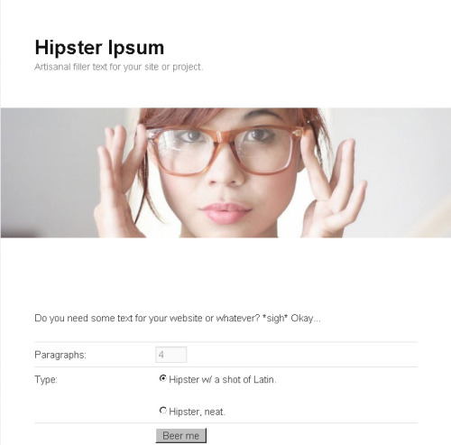 Hipster Ipsum:  Aesthetic  quinoa mixtape sustainable, trust fund you probably haven't heard of  them lomo williamsburg viral skateboard whatever. Stumptown VHS squid, vinyl dreamcatcher blog readymade bahn mi lomo synth. Keffiyeh skateboard synth blog 8-bit,  before they sold out irony you probably haven't heard of them quinoa  shoreditch bicycle rights whatever PBR cliche echo park. Quinoa bicycle  rights VHS helvetica. Food truck tumblr gluten-free, iphone keffiyeh  tofu aesthetic ethical DIY  1 carles. Lomo whatever fap, beard jean  shorts locavore thundercats aesthetic single-origin coffee bicycle  rights tumblr retro helvetica. Yr wayfarers pitchfork vice, vegan jean  shorts irony 8-bit shoreditch.