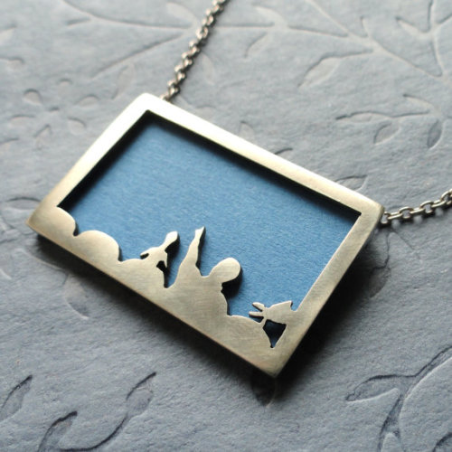 kimacus:  Mystery Science Theater 3000 locket! Bwahahaha! Awesome!