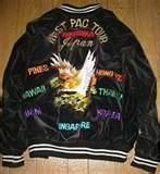Embroidered, Western Pacific, Souvenir Jacket.
