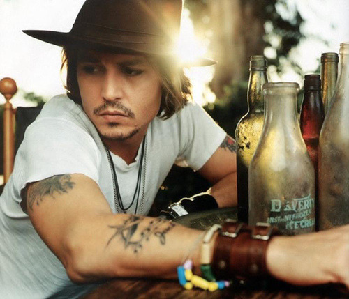 My Bohemian Boyfriend Johnny Depp is the King of Bohemians in my book, so you're bound to see him aplenty in this here blog.