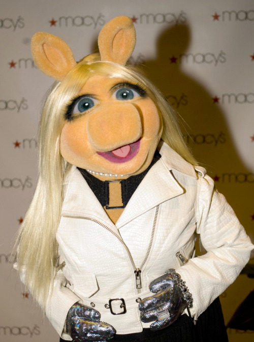 Miss Piggy with Michele Bachmann eyes.