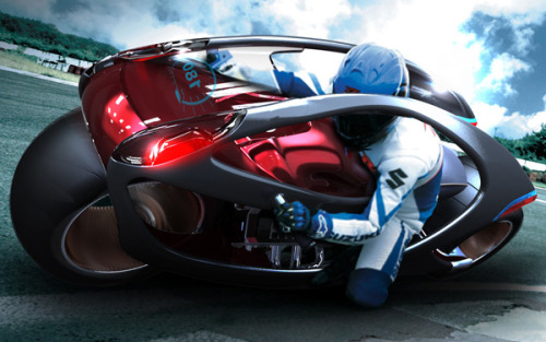 Stunning motorcycle design by Hyundai and Min Seong Kim (via Yanko Design)