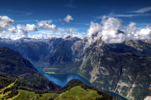 Lake Königsee, Bavarian Alps, Germany