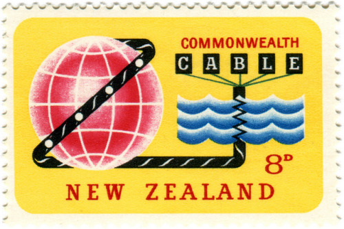New Zealand postage stamp: cable by karen horton on Flickr.