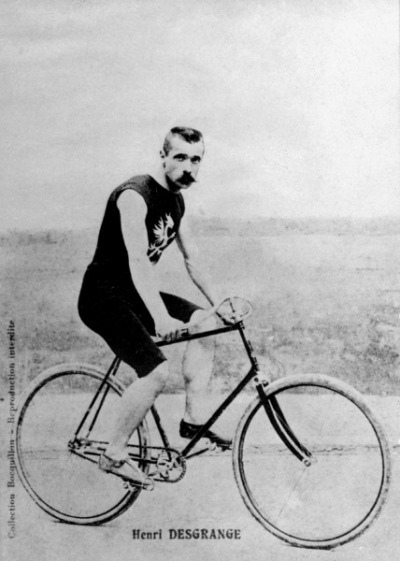 Henri Desgrange: French Bicycle racer, Sports Journalist, First organiser of the Tour de France and original hipster.