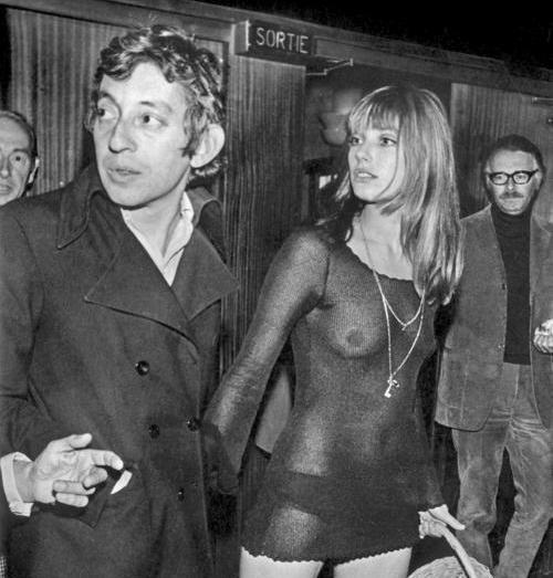 aspiringschizoid:  Serge Gainsbourg and Jane Birkin