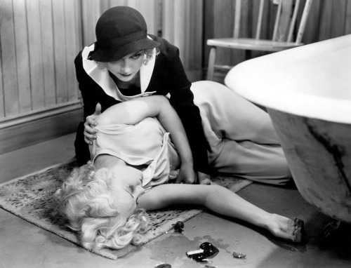 Carole Lombard and Shirley Grey in Virtue (1932) Image Source