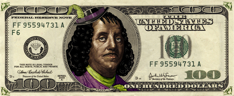 MAKE YOUR FRANKLIN!  Diseños futuros del billete de $100