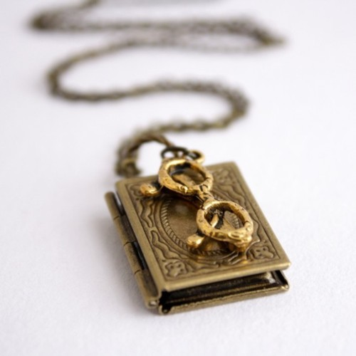 Blogged: Book Pendants!