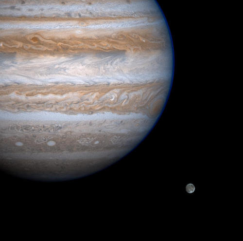 lookatthesefuckinstars:  Jupiter Eyes Ganymede Jupiter, you are perfect.