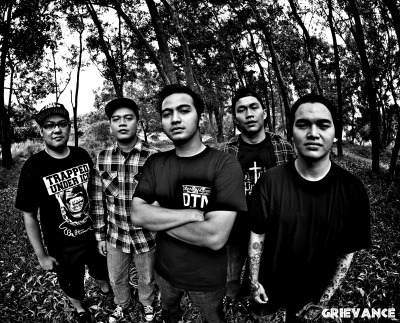 Solid line up Grieve Crew, taken by Surya Adi . for upcoming debut #HailtoJustice2011