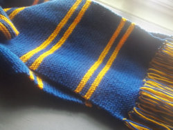 (via Harry Potter Ravenclaw Scarf by LadySLupe13 on Etsy) Just ordered myself one of these :).