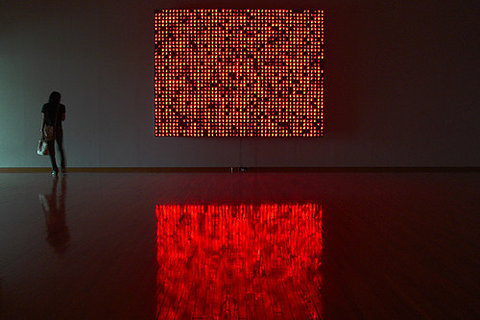 richercolour:  the reflection is almost cooler than the installation itself