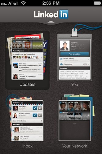 LinkedIn launches slick new iPhone, Android and HTML5 mobile apps via thenextweb: