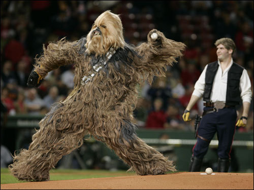 Wookies vastly improve sportsball events.