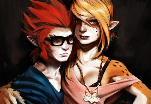 "justinrampage:  The ThunderCats are back and in a new hipster style by artist Carlos Villa. His entry for the new collaborative art blog ""Fuck Yeah! Lets Draw"". HOOOooo! Hipcats 2011 by Carlos Villa (deviantART) Via: Super Punch"