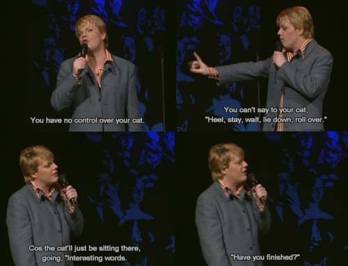esotericcoteries:  Eddie Izzard - Unrepeatable