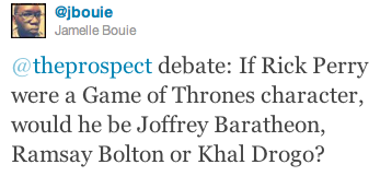 Jamelle Bouie (a writing fellow here at the Prospect) poses the question. Got an answer?