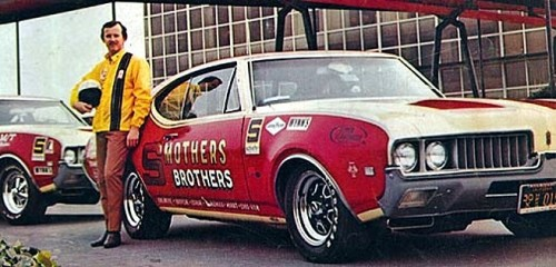 prova275:  More Smothers… Dick and '69 Cutlass drag cars