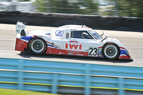 Brown/Blundell United Autosports Riley Ford - Watkins Glen 2011 (by missed.apex)