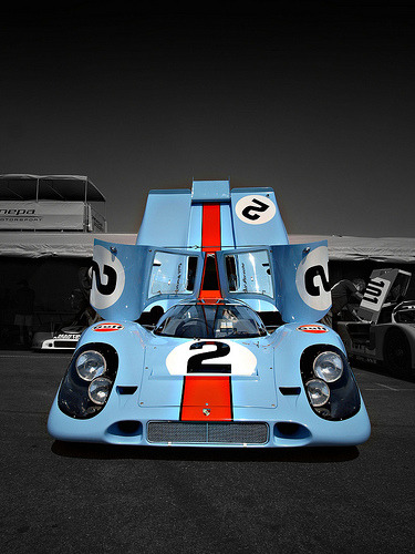 Gorgeous Porsche 917 at the Monterey Historics (by brian&finks)