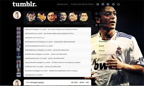 Finally it's HERE! A Mesut Özil dashboard theme / install / help Thank you footballgraphics now you can  install  this to your dashboard for any questions read help (Source: footballgraphics)