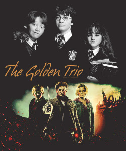 themedparty | challenge 25| Through the years  || The Golden Trio||  2001 - 2010/11