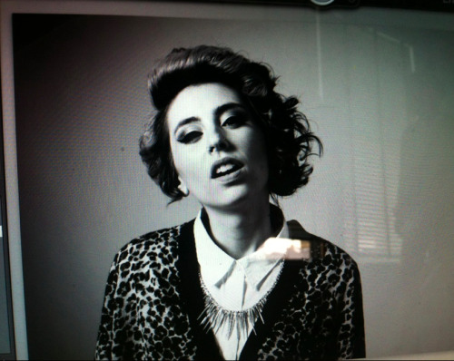 Kreayshawn sporting the JujuGold 60 spike necklace on her new photoshoot!