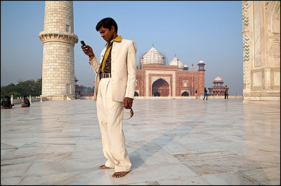 White Suit -Taj Mahal by Maciej Dakowicz on Flickr.