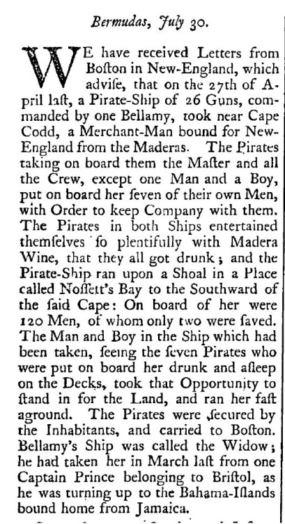 Modern news is so boring. (source: The London Gazette, September 21, 1717.)
