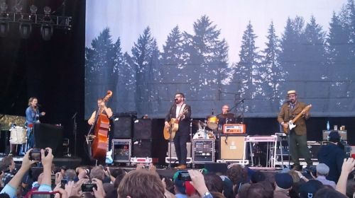 The Decemberists Day three of the 2011 Outside Lands Music Festival in San Francisco, CA.