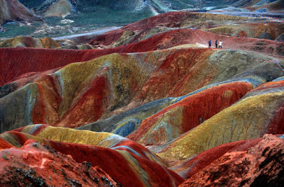 xpandapplex:  China Danxia is the name given in China to landscapes developed on  continental red terrigenous sedimentary beds influenced by endogenous  forces (including uplift) and exogenous forces (including weathering and  erosion). The inscribed site comprises six areas found in the  sub-tropical zone of south-west China.