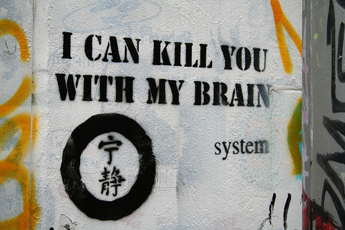 oneflewoverthelabyrinth:  I CAN KILL YOU WITH MY BRAIN (by H4NUM4N)
