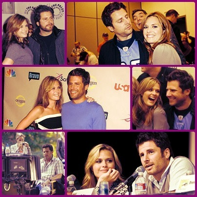 James Roday & Maggie Lawson