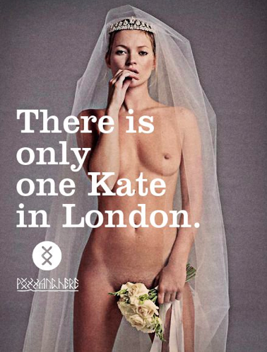 There is only one Kate in London!!