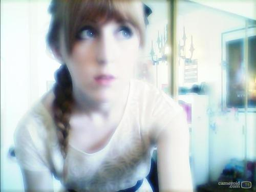 I am too pale for my webcam