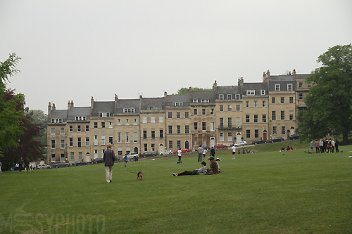 at bath`s royal crescent, apr 2011