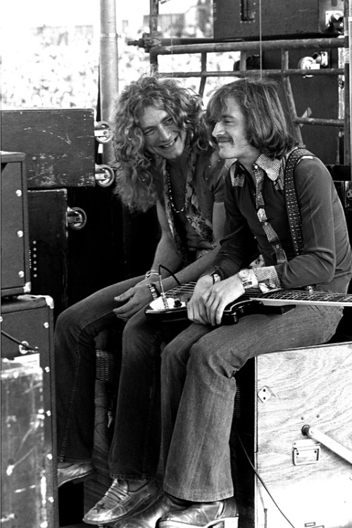 Robert Plant , John Paul Jones