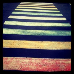Rainbow Crosswalk (Taken with instagram)