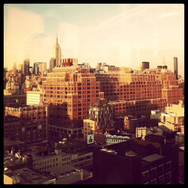 creaturefeats:  View from Boom Boom Room, Standard Hotel Taken with instagram