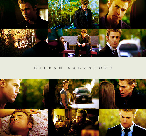 painted-whore:  Favourite characters | not in order  → Stefan Salvatore.